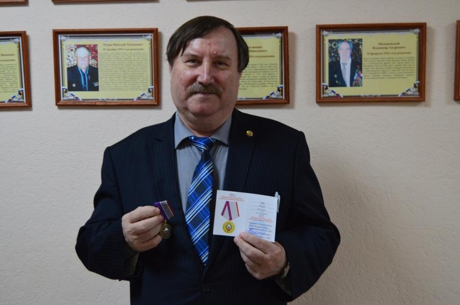 Ветеранам органов внутренних дел вручили медали «30 лет Общероссийской общественной организации ветеранов МВД»