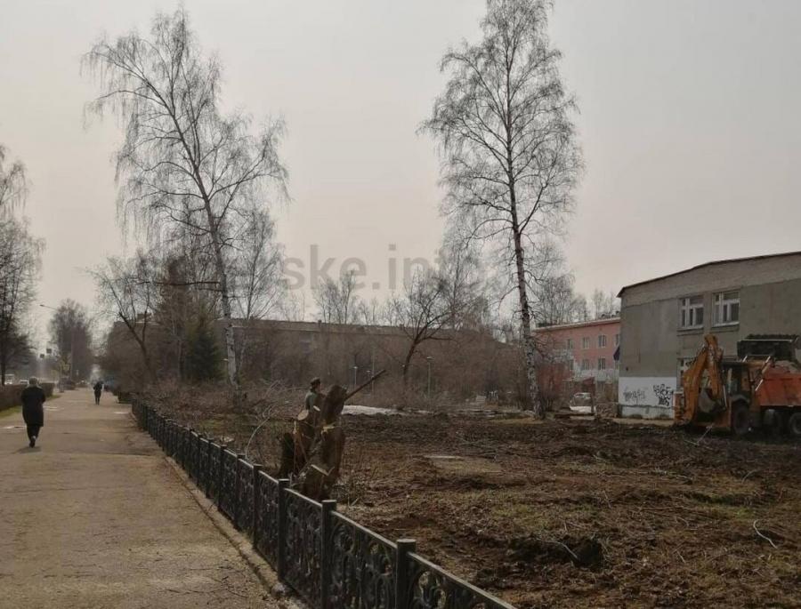 В Северске началось благоустройство по нацпроекту
