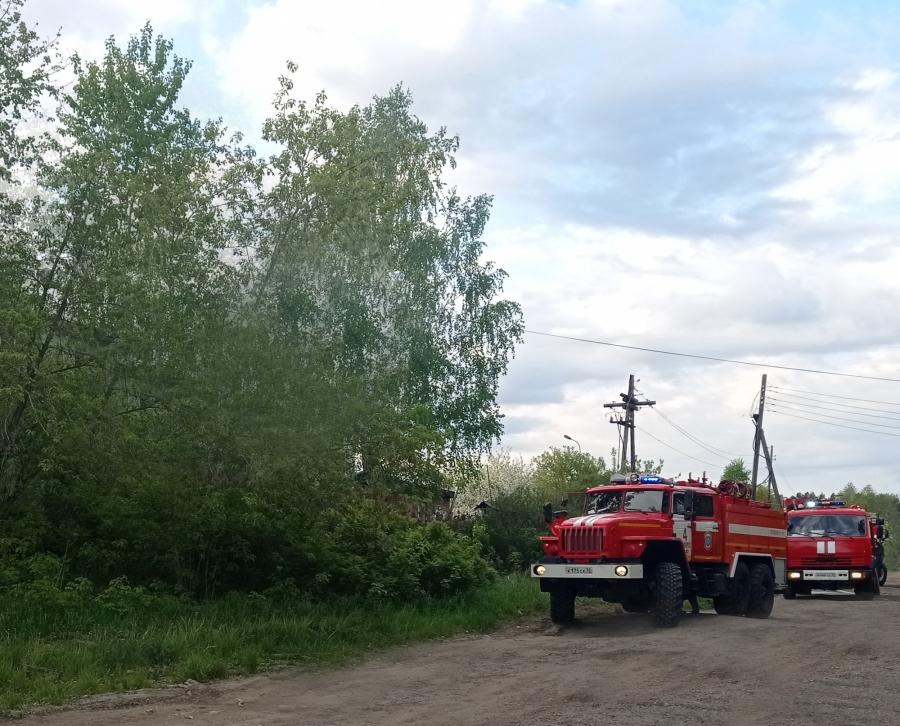 Информация о пожарах, произошедших в ЗАТО Северск с 31 мая по 6 июня