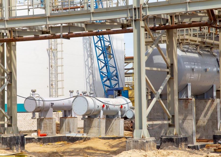 «Томскнефтехим» смонтировал основное технологическое оборудование на локальных очистных сооружениях