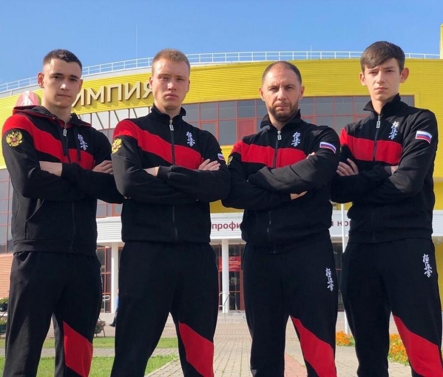 Северские спортсмены готовятся к Кубку мира по киокусинкай