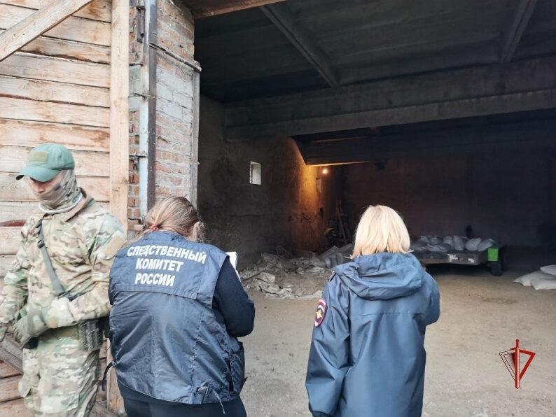 При участии СОБР Росгвардии в Томской области задержаны подозреваемые в незаконном лишении свободы