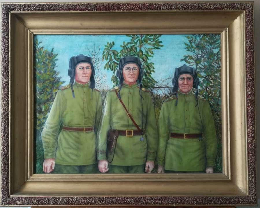 Победы северчанок на конкурсе работ художников-любителей «Салют Победы»