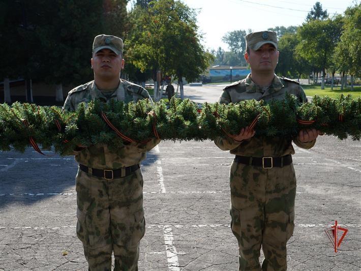 В Северском соединении Росгвардии почтили память погибших при исполнении воинского долга
