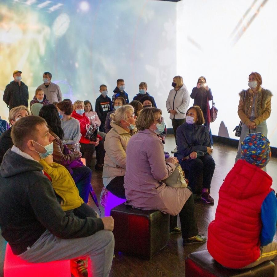 В Северске открылась мультимедийная выставка «Технологии, изменившие мир»