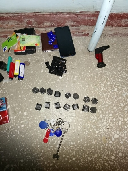Северскими полицейскими задержан мужчина, подозреваемый в приготовлении к незаконному сбыту наркотических средств