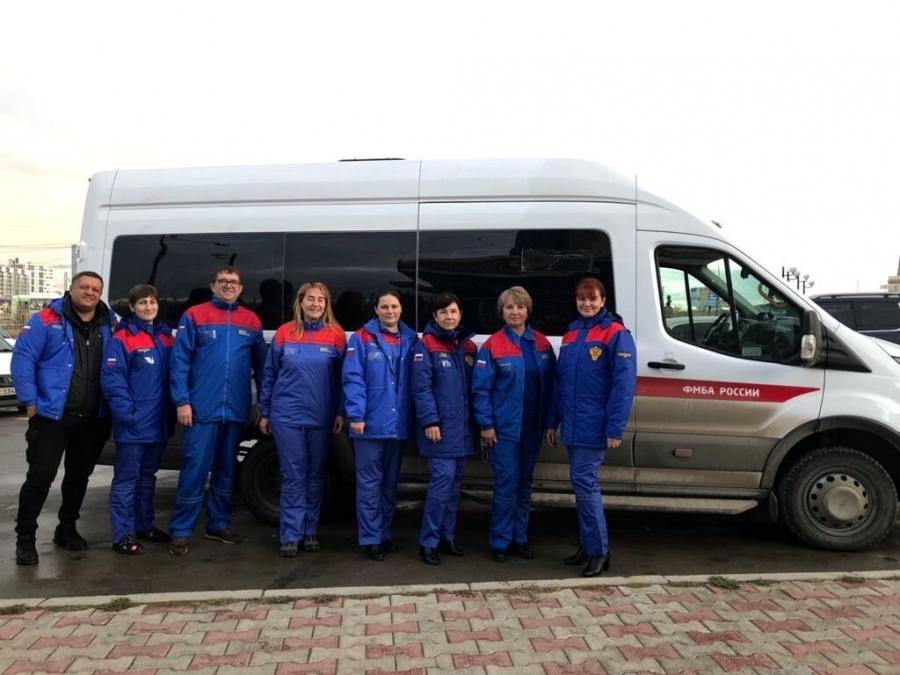 Вторая бригада медиков сводного медицинского отряда ФМБА России прибывает на помощь пострадавшей от пожаров Якутии