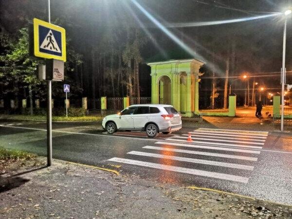 42-летний водитель сбил пешехода возле парка