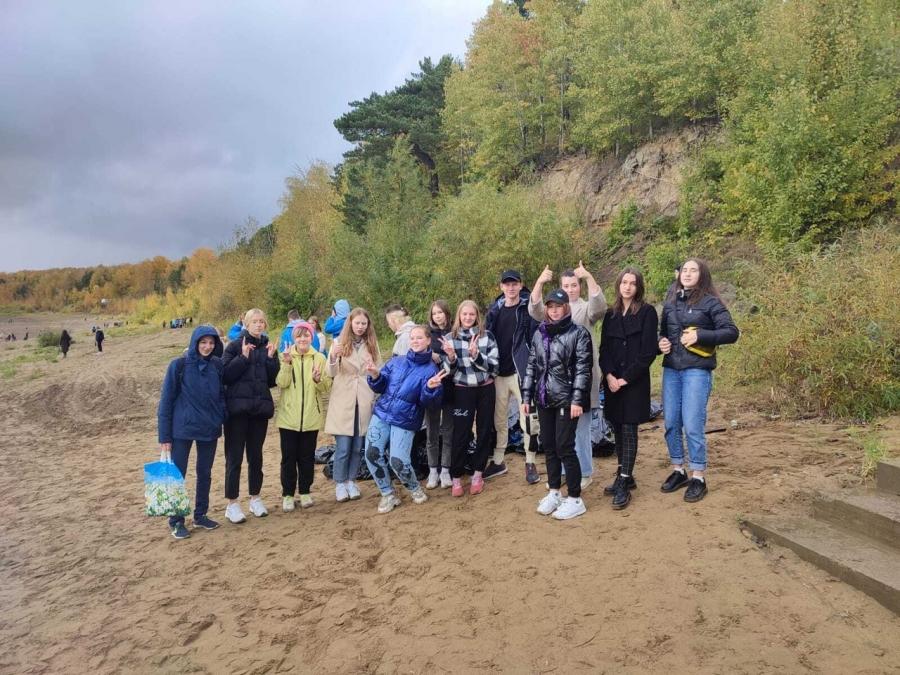 В Северске прошла ежегодная акция «Чистый берег»