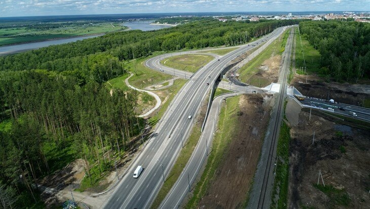 Новая шестиполосная дорога соединит Богашевский тракт и Степановку