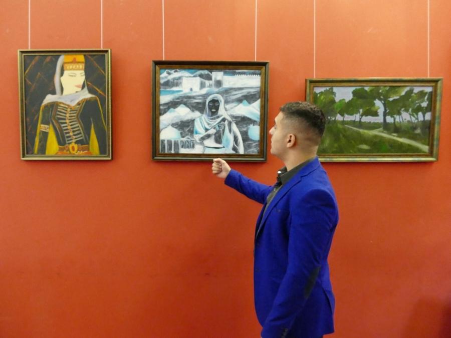 Выставка картин северского офицера открылась в Томске