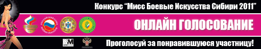Мисс боевые искусства Сибири 2011