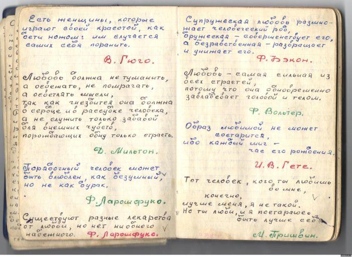 Записная книжка зэка