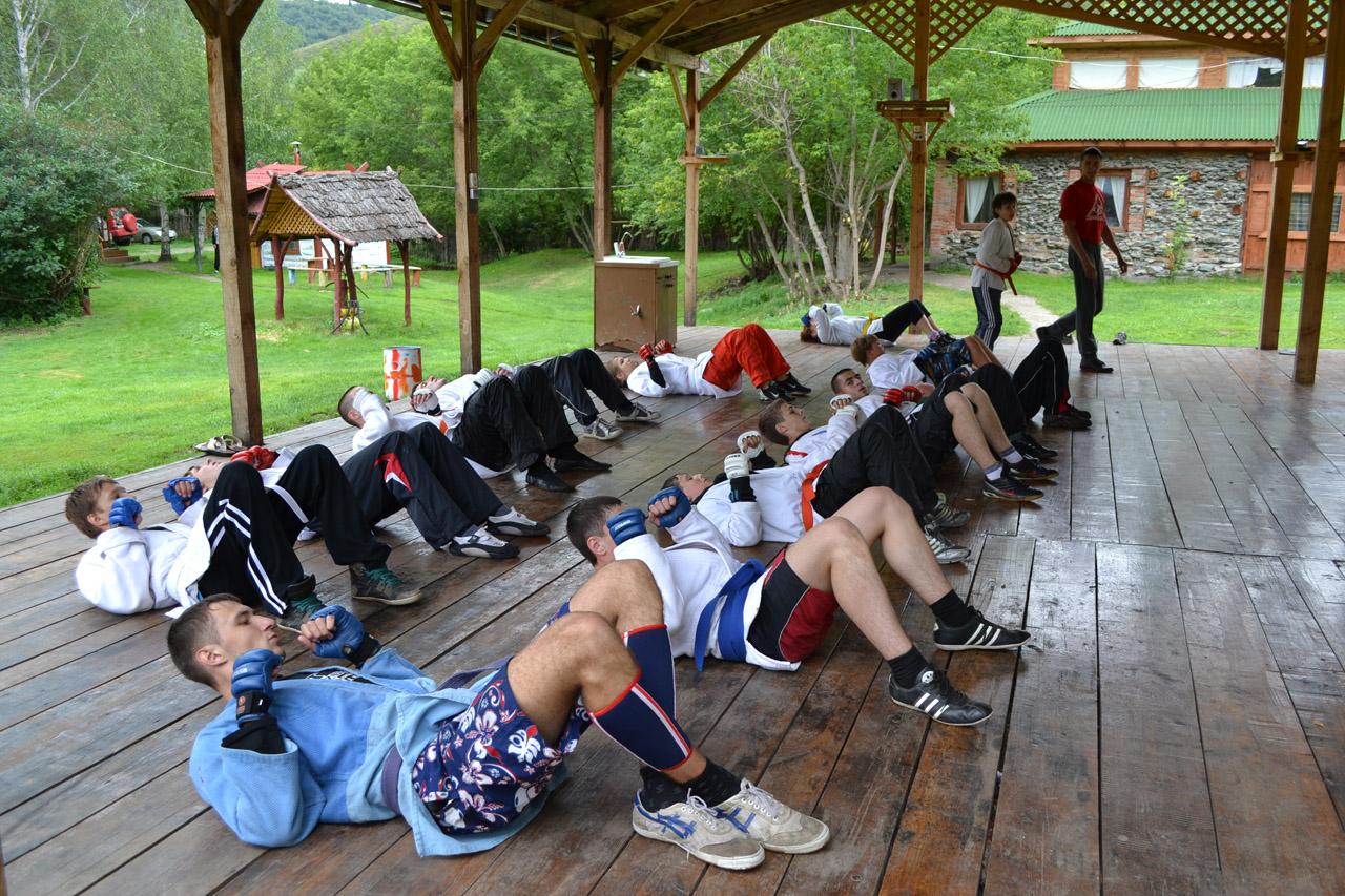 Летний спортивный лагерь джиу-джитсу. Алтай-2011