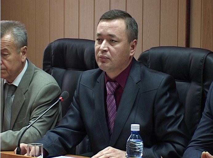 5 октября начальник УВД Ринат Казаков встречал высоких гостей