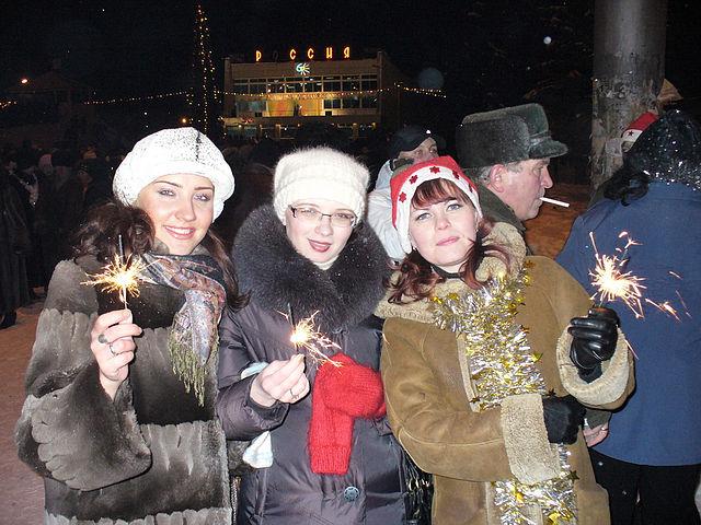 Северчане в новогодние праздники