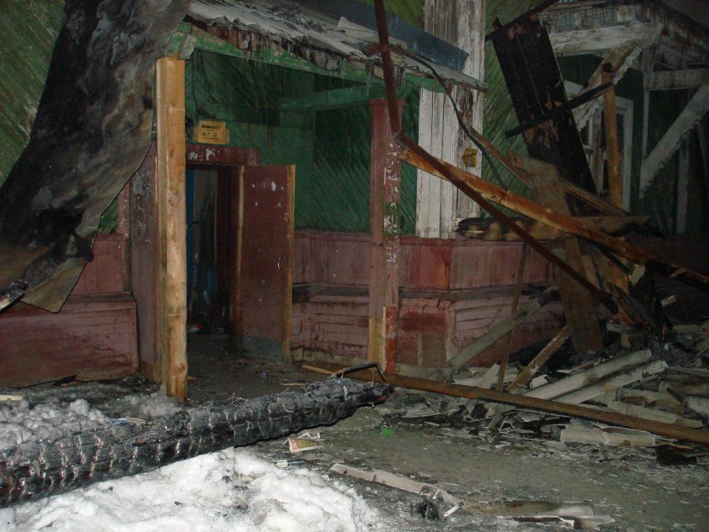 Все что осталось от дома на улице Комсомольской 10