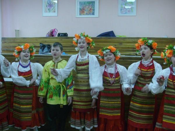 Ансамбль народной песни «Садко» получил диплом 1 степени