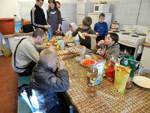 Разговенье северского православного молодёжного клуба
