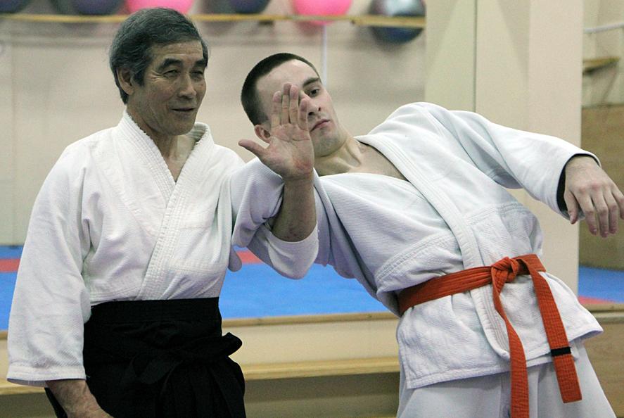 Семинар сэнсэя Сато по Дайто-рю айки-дзюдзюцу. Томск, апрель 2012