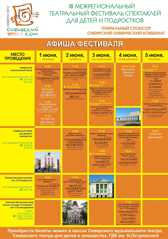 Северск станет столицей  театрального искусства