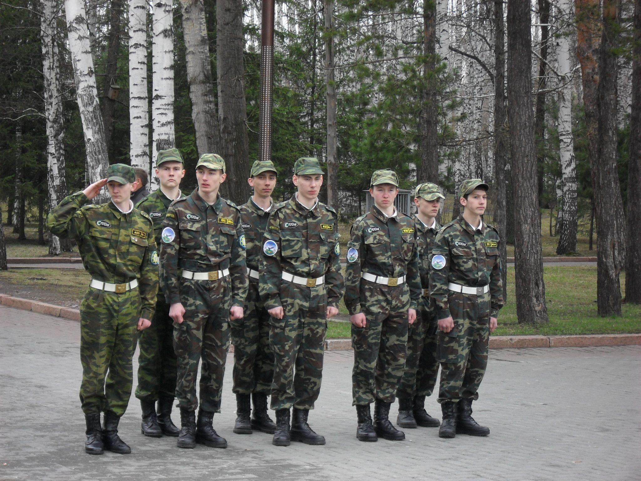 Северчане приняли участие в фестивале оборонно-спортивных клубов