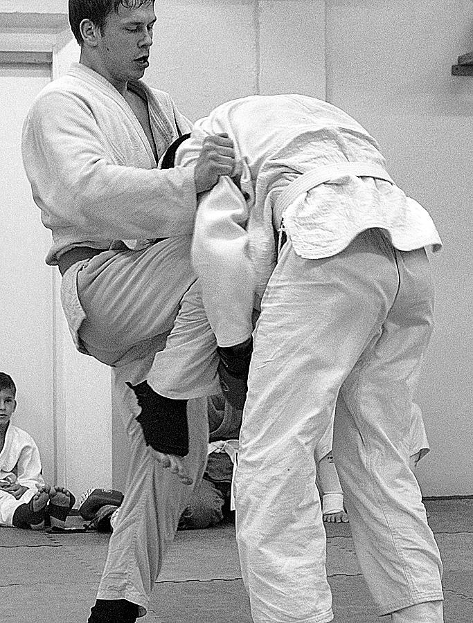Джиу-джитсу. Аттестация на пояса, поединки. Май 2012