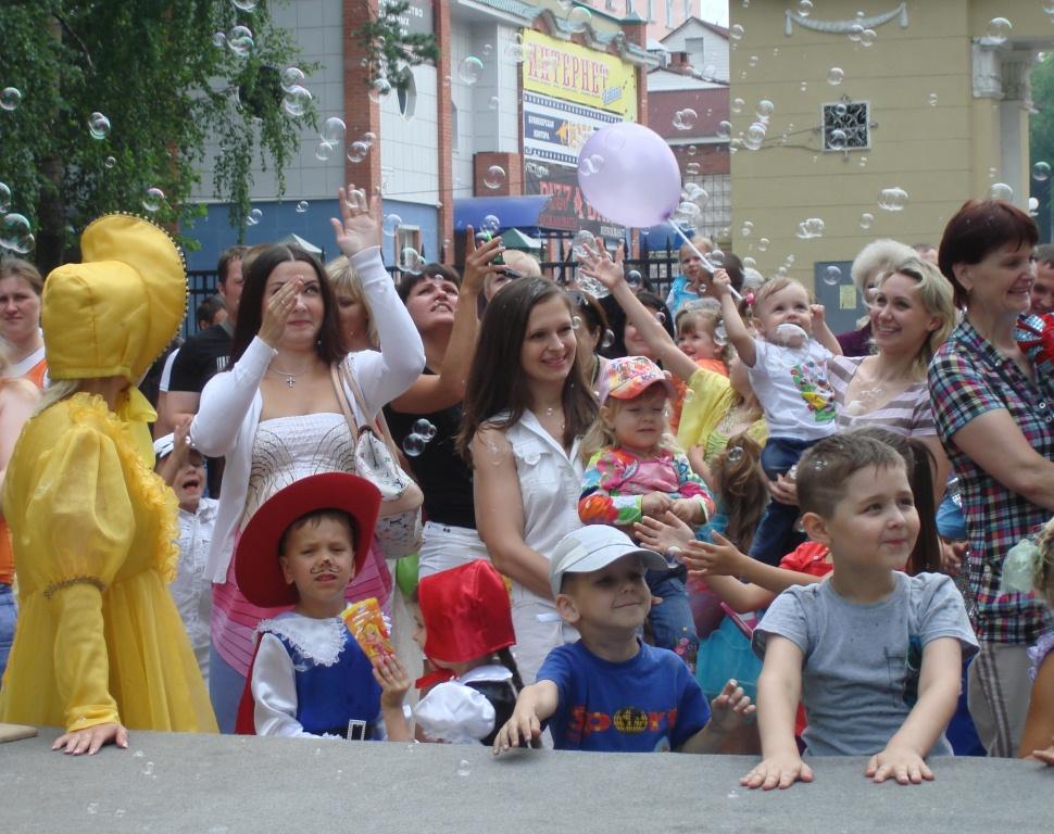 Первый детский карнавал в Северске
