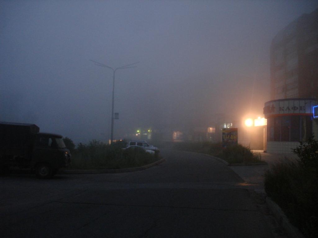 Дымка над городом