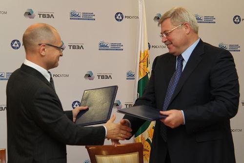 Гендиректор Росатома обозначил перспективы развития СХК до 2020 года