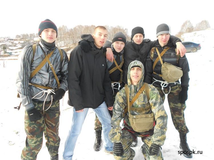 Северчане приняли участие в спартакиаде оборонно-спортивных клубов Томской области