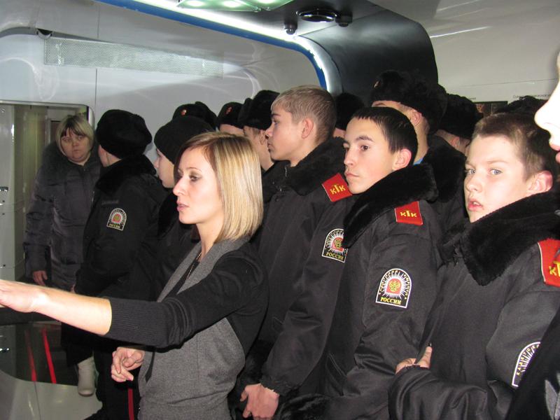 «Поезд инноваций» в Томске посетило более 1700 человек