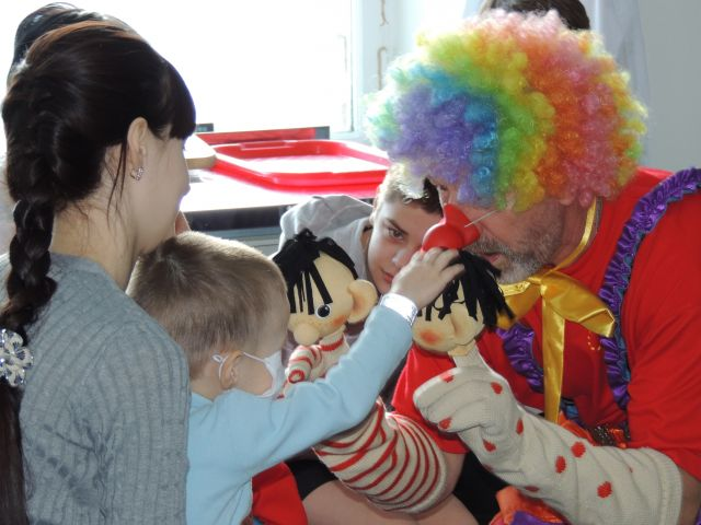 Праздник ко Дню ребёнка